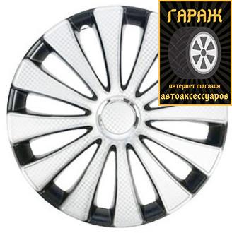 Колпаки R16 Star GMK White Super Black карбон
