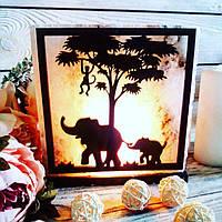 Солевая лампа «Африка» 3-4кг