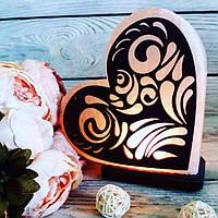 Солевая лампа «Сердце» 3-4кг