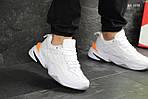 Мужские кроссовки Nike M2K Tekno (бело/оранжевые), фото 2