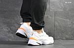 Мужские кроссовки Nike M2K Tekno (бело/оранжевые), фото 5