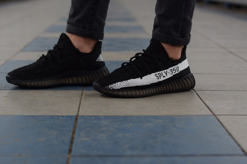 Мужские кроссовки Adidas Yeezy Boost 350 , Реплика