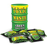 Конфеты Toxic Waste Green