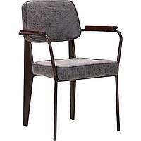 Кресло Lennon кофе / бетон TM AMF