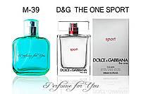 Мужские духи The One Sport Dolce&Gabbana 50 мл