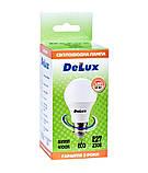 Лампа светодиодная DELUX BL60 12Вт 4100K Е27 белый, фото 2
