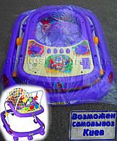 Детские ходунки Tilly  - фиолетовые (T-428)