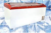 Морозильный ларь Juka с гнутым стеклом M800 S