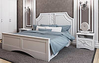 Белая кровать Бланка Б