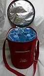 Термосумка - холодильник Dolphin для напоїв. Червона, фото 2