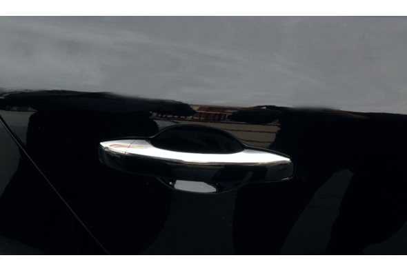 Накладки на ручки (4 шт, нерж) Renault Megane IV 2016↗ гг.