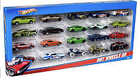 Хот Вилс набор машинок 20 шт. Hot Wheels 20 Cars Gift Pack, Styles May Vary