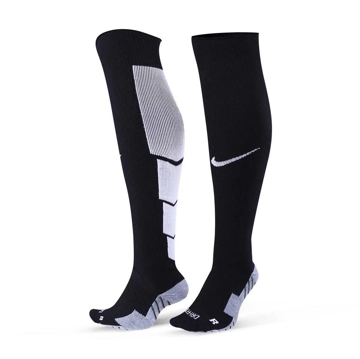 Футбольные гетры  Nike (черные)