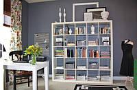 Стеллаж для книг Кубус Микс 5*5 1854х1854х290мм цвет в ассортименте