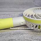"Ручной мини-вентилятор на аккумуляторе Princess Rabbit Yellow. Портативный мини вентилятор ""Кролик"" Желтый, фото 8"