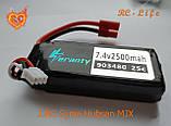 Акумулятор 7.4 V 2500mAh 25C LiPo для квадрокоптера Syma Х8С | W | G | HC | HG | HW, фото 2