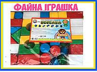 """Конструктор """"Веселка 3 ТехноК"""" 42 дет. Зроблено в Україні 2612"""