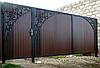 Установка заборів з профнастилу під ключ, фото 2