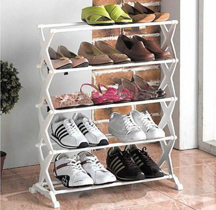 Полка для обуви Shoe Rack на 15 пар, Стойка для хранения обувиШоу Рек
