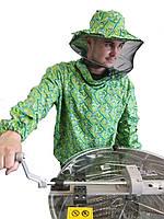 Куртка ранфорс (зелена). Куртка бджоляра(ситець)