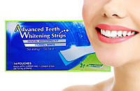 Отбеливающие Полоски Для Зубов Advanced Teeth Whitening Strips (7 пакетиков).