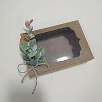"Коробка для подарков ""Нежный розовый эвкалипт"" 130х90х35 мм, фото 1"