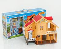 Домик Happy Family, мебель, световые эффекты