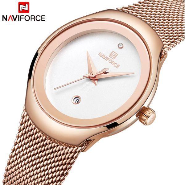 Naviforce Женские часы Naviforce Sabina White