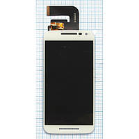 Модуль (дисплей + сенсор) Motorola XT1540 Moto G3 / XT1541 / XT1544 / XT1548 / XT1550 + Touchscreen Orig White