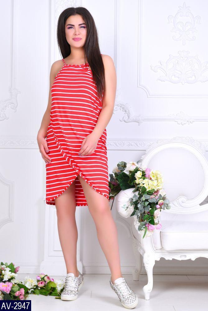 Стильное платье    (размеры 46-60)  0183-98