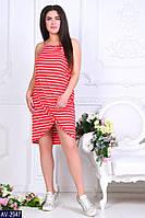 Стильное платье    (размеры 46-60)  0183-98, фото 1
