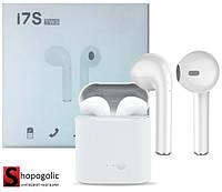Беспроводные Bluetooth Наушники i7s TWS для iPhone и Android