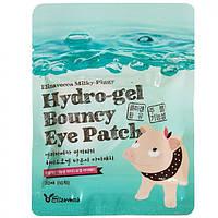 Гидрогелевые Патчи Для Глаз С Коллагеном Elizavecca Milky Piggy Pure Hydro Gel Bouncy Eye Patch, 20 Шт
