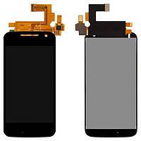 Модуль (дисплей + сенсор) Motorola XT1620 Moto G4/XT1621/XT1622/XT1624/XT1625/XT1626 + Touchscreen Black