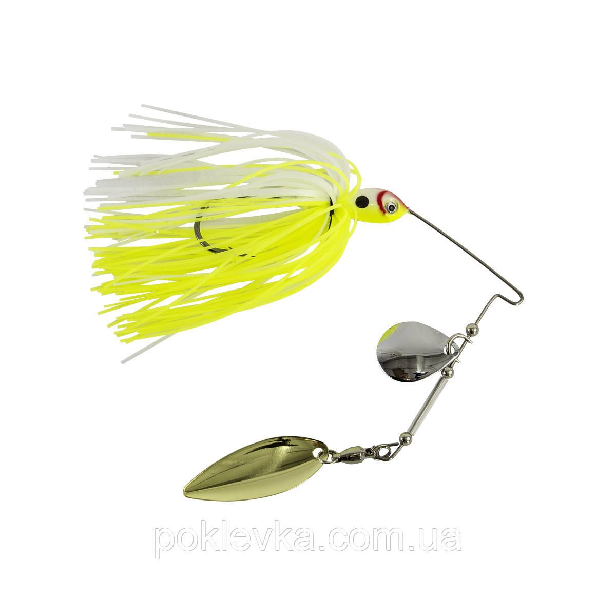 Spinner Bait Wizard 14г Yellow-White