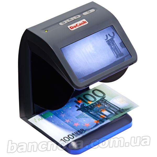 DoCash MINI IR/UV/AS (UV-LED) Компактный детектор валют