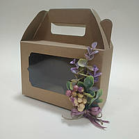 "Коробка  190х130х90 мм "" Эвкалипт с ягодами глода"", фото 1"