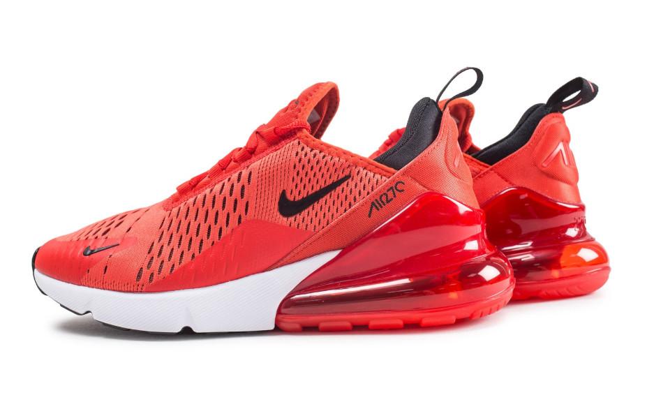Кроссовки Nike Air Max 270 Habanero Red красные мужские
