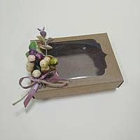"Коробка  130х90х35 мм ""Эвкалипт с ягодами глода!, фото 1"