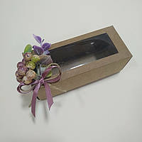"Коробка   140х50х55 ""Эвкалипт с ягодами глода"""