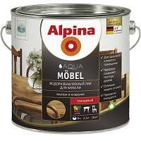 Лак Alpina AC Moebellack GL Klar 2.5 л глянцевый