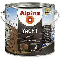 Лак Alpina Yachtlack 0.75 л яхтный глянцевый