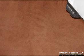 Алькантара самоклеющаяся Decoin (Корея) на поролоне (3мм), мокко 145x10 см