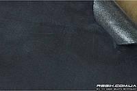 Алькантара самоклеющаяся Decoin (Корея) на поролоне (3мм), темно-серый 145x10 см