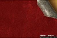 Алькантара самоклеющаяся Decoin (Корея) на поролоне (3мм), бордовый 145x10 см
