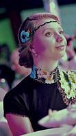 Цветок был специально изготовлен под данное платье, чтобы создать гармоничный образ, Нежный и женственный)) Спасибо Светлане из Харькова за фото)