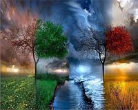 Картина по номерам «Времена года» (40*50 см) , фото 1