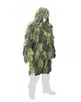 Маскировочный халат MilTec Ghille Parka Woodland 11962120, фото 3