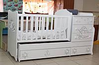 Экологическая детская кровать-трансформер, фото 1