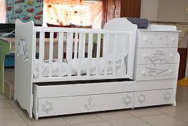 Экологическая детская кровать-трансформер
